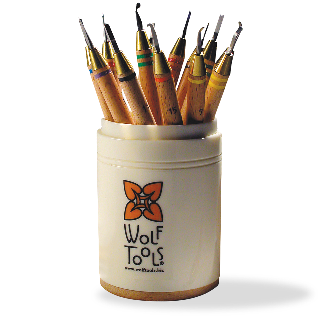 Kate Wolf Tools Canister