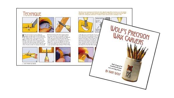 Wax Carving & Jewelry Design Workshops, Wolf Tools Booklet