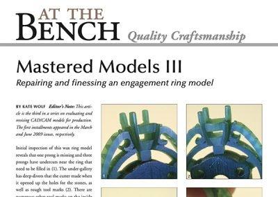 Mastered Models III